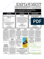 Legal Employment Weekly - June 1, 2010