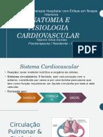 Anantomia e fisiologia cardiovascular