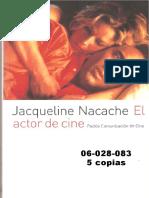 Nacache El Actor de Cine