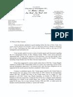 Melania Trump immigration letter