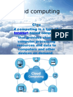 Cloud Computing My Ppt