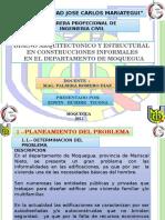 DISEÑO ARQUITECTONICO Y ESTRUCTURAL  EN CONSTRUCCIONES INFORMALES.pptx