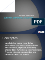 Curso de Estadistica Industrial (I)