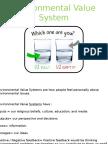 environmental value system 2014