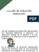 Método de Inducción-Deducción