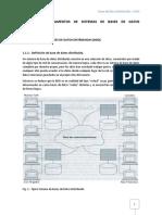 Bases de Datos Distribuidas I
