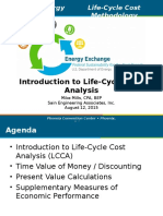Project Life Cycle Costing