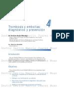 Trombosis y Embolias Diagnóstico y Prevención
