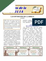 Estudios de La Biblia--2