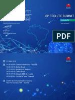 Convite - IsP TDD LTE Summit 31 de Maio