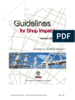 Shope Inspection Guidelines_2009