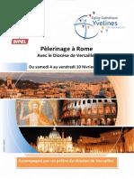 Rome du 4 au 10 février 2017