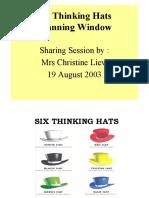 Debono Six Thinking Hat