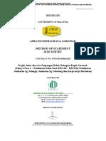 Method Statement for Survey Works.doc
