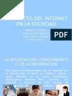 El Impacto Del Internet en La Sociedad