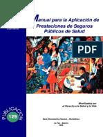 Manual Para La Aplicacion de Prestaciones Nro129
