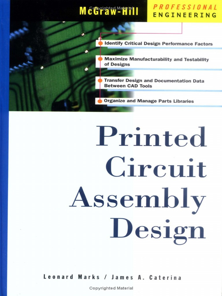 printed circuit assembly design by leonard marks, james caterinaprinted circuit assembly design by leonard marks, james caterina (mcgraw hill 2008) pdf printed circuit board circuit design