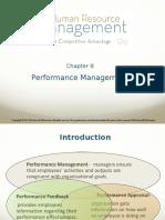 Performance Management (Chp 8)