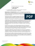 24 07 2011 - El gobernador Javier Duarte de Ochoa asistió al II Informe de Actividades del gobernador de Querétaro.
