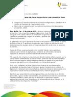 21 07 2011 - El gobernador Javier Duarte de Ochoa asistió a la 51 Reunión Ordinaria de la Comisión de Agricultura y Ganadería de la Cámara de Diputados del H. Congreso de la Unión.