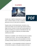 Historia El Alpinista