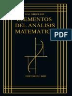 S.M. Nikolski-Elementos del Análisis Matemático-Editorial Mir (1984).pdf
