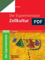 Buch Der Experimentator Zellkultur 2011