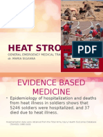 Heat Stroke Ppt