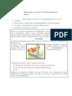 Actividade, guião e critérios (Felícia)