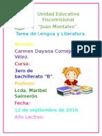 Tarea Lengua Figuras Literarias