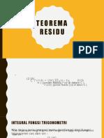 Teorema Residu