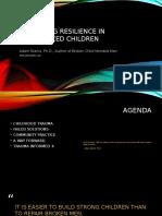 Enhancing Resilience Keynote Presentation-Starks