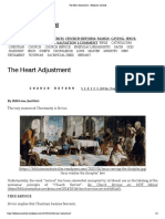 The Heart Adjustment – Biblicism Institute
