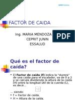 Factor de Caida