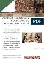 Actitud Religiosa y Necesidad de Aprobación Social 1