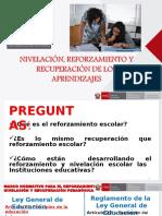 PPT Reforzamiento y Nivelacion HGE