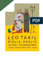 Leo Taxil - Biblia Hazlie v.0.9