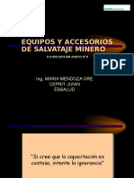 Equipos y Accesorios de Salvataje Minero