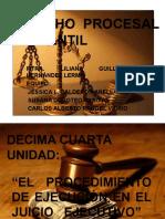 Derecho Procesal Mercantil