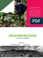 Experiencias de Habitabilidad Cerros Orientales de Bogotá