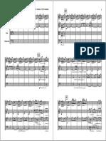 Albeniz Malaguenia arr. for string quartet