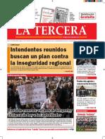 Diario La Tercera 14.09.2016