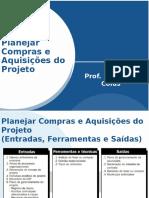 Planejar Compras e Aquisições do Projeto