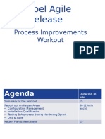 Siebel Agile Release Workout Report Out