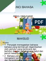 299283581-Analisis-Sajak-Kunci-Bahasa.ppt