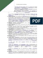 Vocabulario Notarial