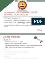 Basics of Solar Thermal Heating