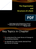 Banking ch02  - Organization and Structure of Bank