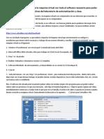 Instalacion Maquina Virtual