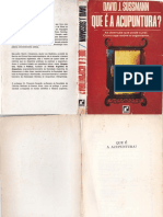 David J. Sussmann - Que é a Acupuntura